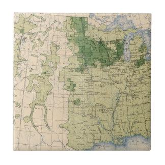 161 Barley/sq mile Ceramic Tile