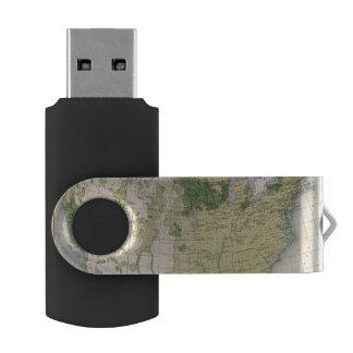 161 Barley/sq mile Swivel USB 2.0 Flash Drive