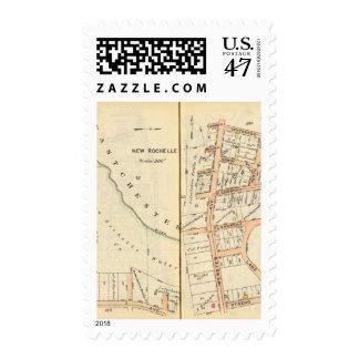 162163 New Rochelle Postage Stamp