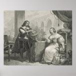 1626-89) reinas de Christina (de Suecia, de una se Impresiones