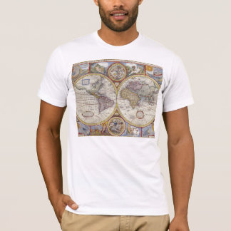 1626 Vintage World Map T-Shirt