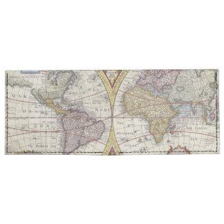 1626 Vintage World Map Tyvek Wallet