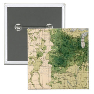 162 Hay, forage/sq mile Pinback Button