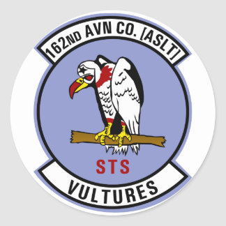 162nd AHC Round Stickers