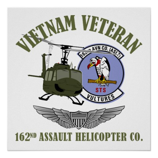162nd AHC w/ Wings and UH-1 Helicopter Posters