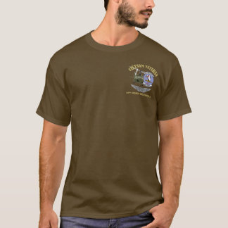 162nd AHC w/ Wings and UH-1 Helicopter T-Shirt