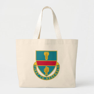 162nd Infantry Regiment - First To Assemble Large Tote Bag