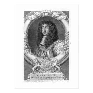 1630-85) reyes de Charles II (de Gran Bretaña y de Postales
