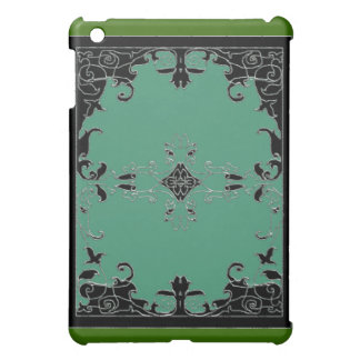 1630 floral (green) cover for the iPad mini