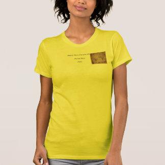 1633 Atantic Ocean Portolan Chart - Pascoal Roiz T-Shirt