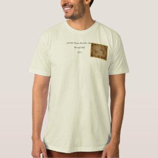 1633 Atantic Ocean Portolan Chart - Pascoal Roiz Tee Shirt