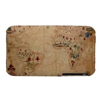 1633 carta de Portolan del océano de Atantic - iPhone 3 Cobreturas