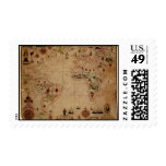 1633 carta de Portolan del océano de Atantic - Sello