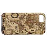 1635 Vintage Old World Map iPhone 5 Case