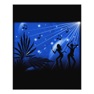 163724 PARTY TIME DANCING MUSIC FUN ENTERTAINMENT FLYER