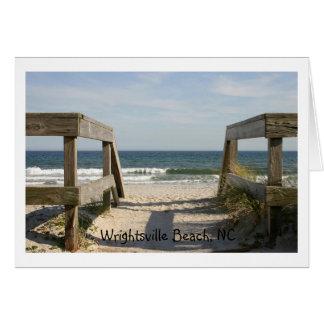 163_6335, Wrightsville Beach, NC Card