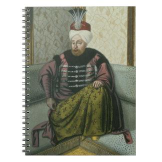 1642-93) sultanes IV de Mahomet (Mehmed) (1648-87, Spiral Notebook