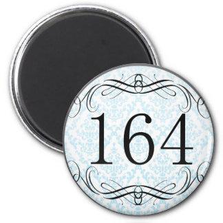 164 Area Code Fridge Magnet