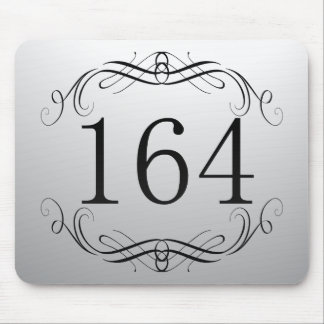 164 Area Code Mouse Pads