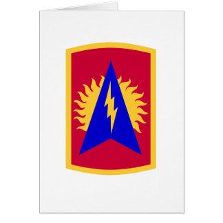 164a brigada de la artillería de la defensa aérea tarjeta de felicitación