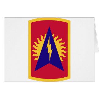 164o Brigada de la artillería de la defensa aérea Tarjeta De Felicitación