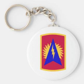 164th air defense artillery brigade basic round button keychain