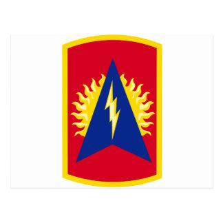 164th Air Defense Artillery Brigade Color Postcard