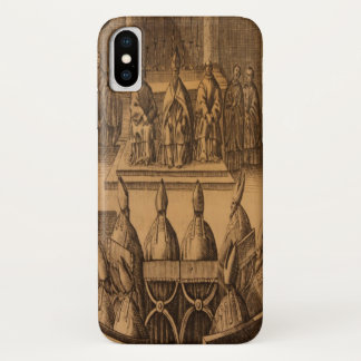 1651 Ceremonial Episcoporum Pope Clement VIII iPhone X Case