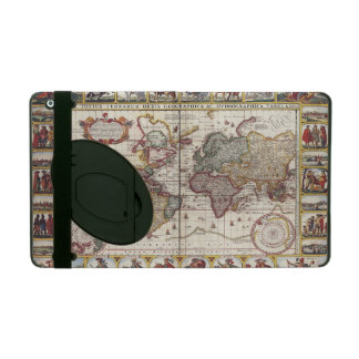 1652 Map of the World, Doncker Sea Atlas World Map iPad Case