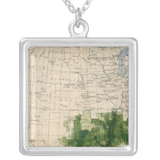 165 Cotton/sq mile Silver Plated Necklace