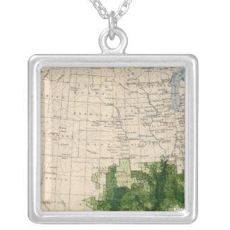 165 Cotton/sq mile Square Pendant Necklace
