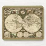 1660 Frederick de Wit Old World Map Mousepad