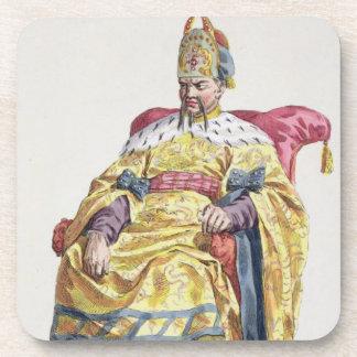1662-1722) emperadores Manchu de Kang Tsi (de Chin Posavasos De Bebida
