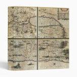 1662 Janson Hornius Holy Land Israel Palestine Map 3 Ring Binder