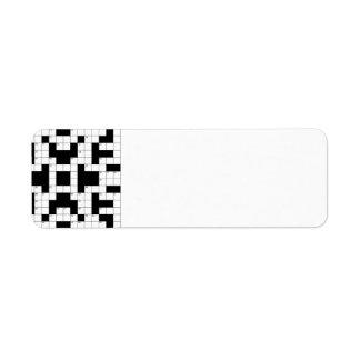 16640-crossword-puzzle-vector CROSSWORD PUZZLE VEC Label