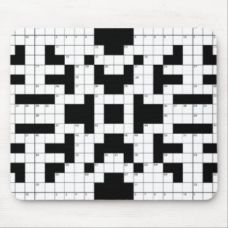 16640-crossword-puzzle-vector CROSSWORD PUZZLE VEC Mouse Pad