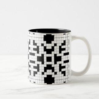 16640-crossword-puzzle-vector CROSSWORD PUZZLE VEC Two-Tone Coffee Mug