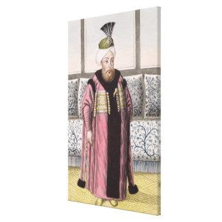 1664-1703) sultanes de Mustapha II (1695-1703, de  Lona Estirada Galerias