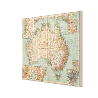 16667 Australia Canvas Print