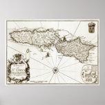 1671 St. Croix Danish West Indies Virgin Islands p Print