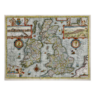 1676 Kingdom of Great Britain and Ireland Poster