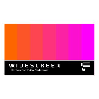 167 con pantalla grande - Mezcla del color - naran Tarjeta De Visita