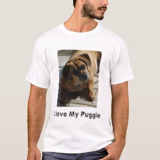 167, I love My Puggle T-Shirt