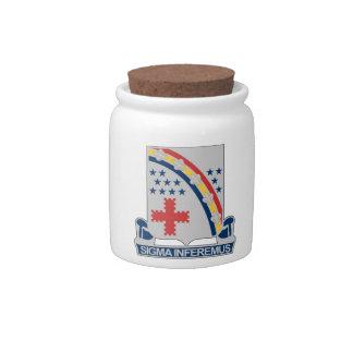 167th Infantry Regiment Candy Jar