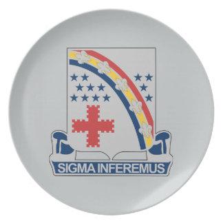 167th Infantry Regiment Dinner Plate