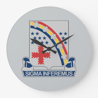 167th Infantry Regiment Large Clock