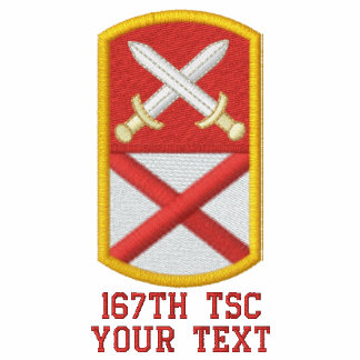 167th TSC Embroidered Polo Shirts