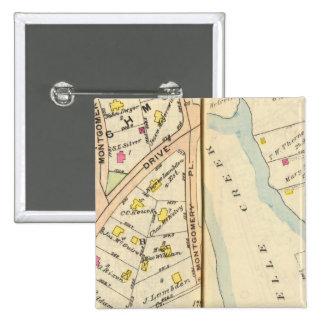 168169 New Rochelle Pin Cuadrado