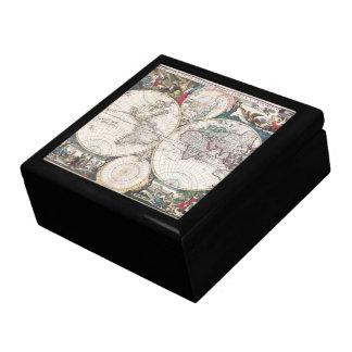 1685 Bormeester World Map Gift Box