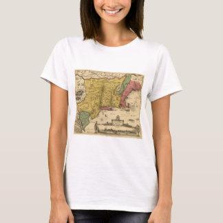 1685 Map - New Belgium, The New World, New England T-Shirt